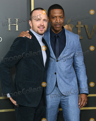 Ray Stoney Photo - 11 November 2019 - Beverly Hills California - Aaron Paul Ray Stoney Apple TVs Truth Be Told Los Angeles Premiere held at Samuel Goldwyn Theater Photo Credit Birdie ThompsonAdMedia