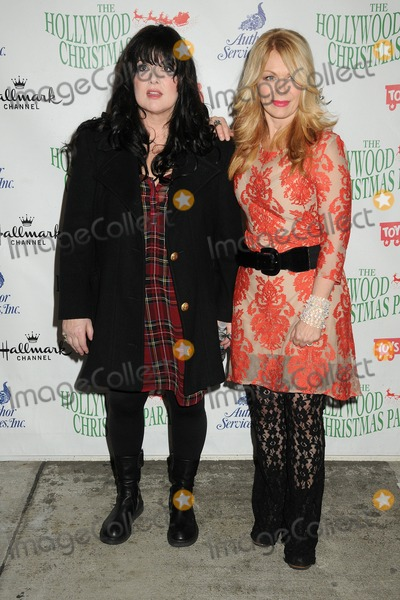 Ann Wilson Photo - 30 November 2014 - Hollywood California - Ann Wilson Nancy Wilson Heart 83rd Annual Hollywood Christmas Parade held on Hollywood Blvd Photo Credit Byron PurvisAdMedia