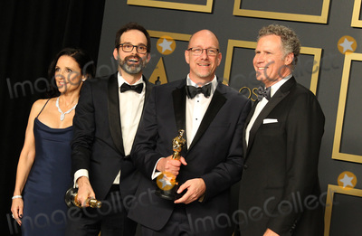 Andrew Buckland Photo - 09 February 2020 - Hollywood California - Julia Louis-Dreyfus Will Ferrell Michael McCusker Andrew Buckland 92nd Annual Academy Awards presented by the Academy of Motion Picture Arts and Sciences held at Hollywood  Highland Center Photo Credit AdMedia