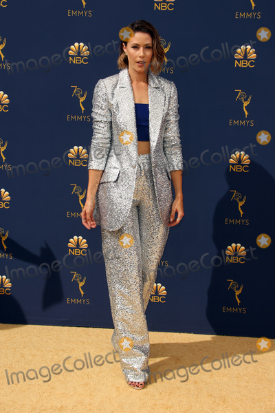 Amanda Crews Photo - 17 September 2018 - Los Angles California - Amanda Crew 70th Primetime Emmy Awards held at Microsoft Theater LA LIVE Photo Credit Faye SadouAdMedia