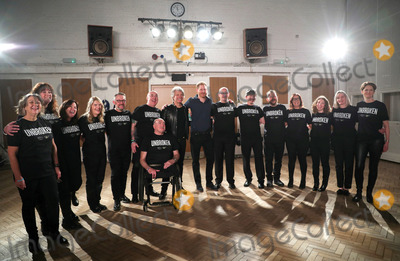 Jon Bon Jovi Photo - 03032020 - Jon Bon Jovi  Prince Harry and Invictus Choir at Abbey Road Studios In London Photo Credit ALPRAdMedia