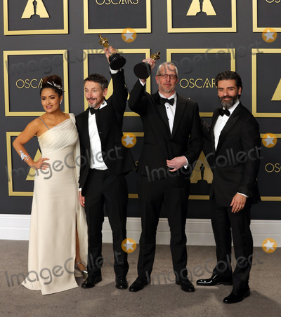 Salma Hayek Photo - 09 February 2020 - Hollywood California - Mark Taylor Stuart Wilson Salma Hayek Oscar Isaac attend the 92nd Annual Academy Awards presented by the Academy of Motion Picture Arts and Sciences held at Hollywood  Highland Center Photo Credit Theresa ShirriffAdMedia