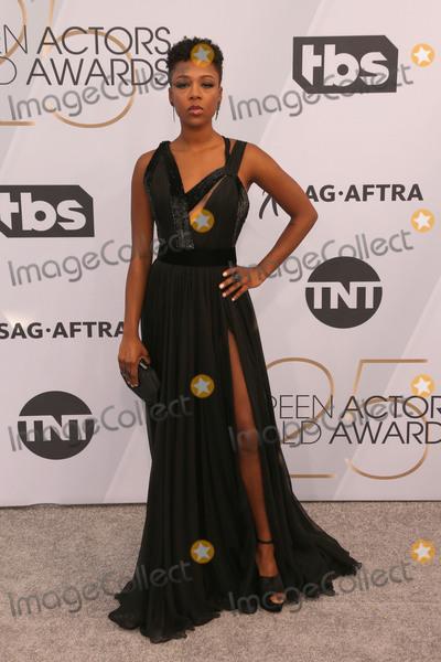 Samira Wiley Photo - 27 January 2019 - Los Angeles California - Samira Wiley 25th Annual Screen Actors Guild Awards held at The Shrine Auditorium Photo Credit Faye SadouAdMedia