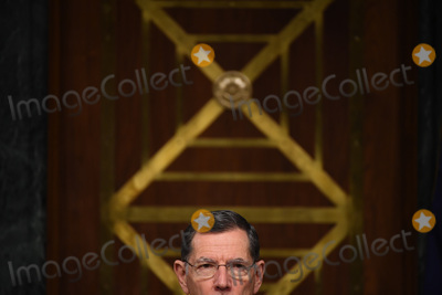 Andrew Wheeler Photo - United States Senator John Barrasso (Republican of Wyoming) listens to opening remarks at a hearing titled Oversight of the Environmental Protection Agency in the Dirksen Senate Office Building on May 20 2020 in Washington DC Andrew Wheeler Administrator United States Environmental Protection Agency (EPA) will be asked about the rollback of regulations by the Environment Protection Agency since the pandemic started in March     Credit Kevin Dietsch  Pool via CNPAdMedia