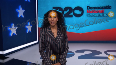 Kerry Washington Photo - In this image from the Democratic National Convention video feed American actress Kerry Washington makes introductory remarks on the third night of the convention on Wednesday August 19 2020Credit Democratic National Convention via CNPAdMedia