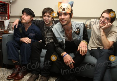 Chris Gaylor Photo - 26 March 2012 - Los Angeles California - Chris Gaylor Nck Wheeler Tyson Ritter and Mike Kennerty of the All-American Rejects The All American Rejects Record Release Party For New Album Kids In The Street Held At The iam8bit gallery Photo Credit Faye SadouAdMedia