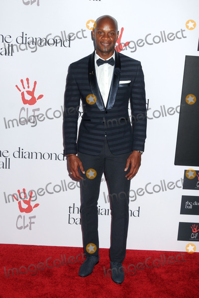 Asafa Powell Photo - 10 December 2015 - Santa Monica California - Asafa Powell 2nd Annual Diamond Ball held at Barker Hangar Photo Credit Byron PurvisAdMedia