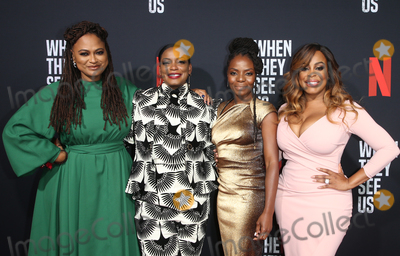 Aunjanue Ellis Photo - 11 August 2019 - Los Angeles California - Ava DuVernay Aunjanue Ellis Marsha Stephanie Blake Niecy Nash When They See Us for your consideration Los Angeles 2019 - Day 1 held at Paramount Theatre Photo Credit FSadouAdMedia