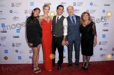 Andrea Osvart Photo - 05 June 2016 - Hollywood California - Niki Vakali Andrea Osvart Christopher Pakaliatis JK Simmons Maria Kavoyianni Arrivals for the 2016 LA Greek Film Festival Premiere Of Worlds Apart held at The Egyptian Theater Photo Credit Birdie ThompsonAdMedia