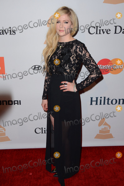 Avril Lavigne Photo - 14 February  - Beverly Hills Ca - Avril Lavigne Arrivals for the 2016 Pre-GRAMMY Gala And Salute to Industry Icons Honoring Irving Azoff held at The Beverly Hilton Hotel Photo Credit Birdie ThompsonAdMedia