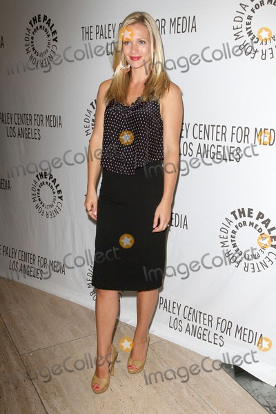 AJ Cook Photo - 6 September 2011 - Beverly Hills California - AJ Cook CBS Preview Panel with the cast  creative team of returning series Criminal Minds Held at The Paley Center for Media Photo Credit Kevan BrooksAdMedia