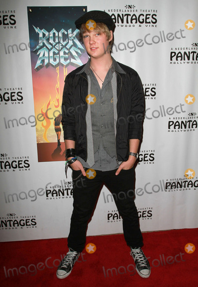 Austin Anderson Photo - 15 February 2011 - Hollywood California - Austin Anderson National Tour of LA Born Broadway Sensation ROCK OF AGES held At The Pantages Theatre Photo Kevan BrooksAdMedia