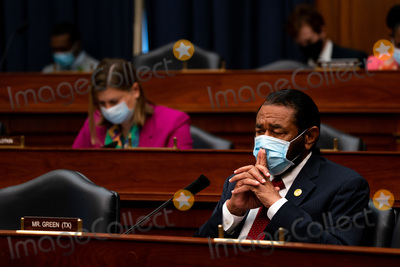 Al Green Photo - United States Representative Al Green (Democrat of Texas)  listens during a hearing with Peter T Gaynor Administrator of Federal Emergency Management Agency (FEMA) and the US House Committee on Homeland Security on Capitol Hill in Washington DC on July 22nd 2020Credit Anna Moneymaker  Pool via CNPAdMedia