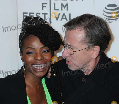 Tim Roth Photo - Marsha Stephanie Blake and Tim Roth at the 2019 Tribeca Film Festivals Film  Talk Luce at the Stella Artois Theatre at BMCC-CUNY in Tribeca in New York New York USA 28 April 2019