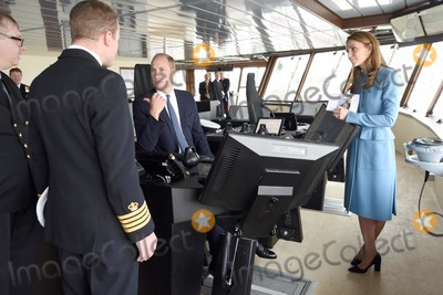Sir David Attenborough Photo - 26092019 - Prince William Duke of Cambridge and Duchess of Cambridge meet with crew members during the naming ceremony of Britains new polar research ship the RRS Sir David Attenborough at Camel Laird Shipyard in Birkenhead Merseyside Photo Credit ALPRAdMedia