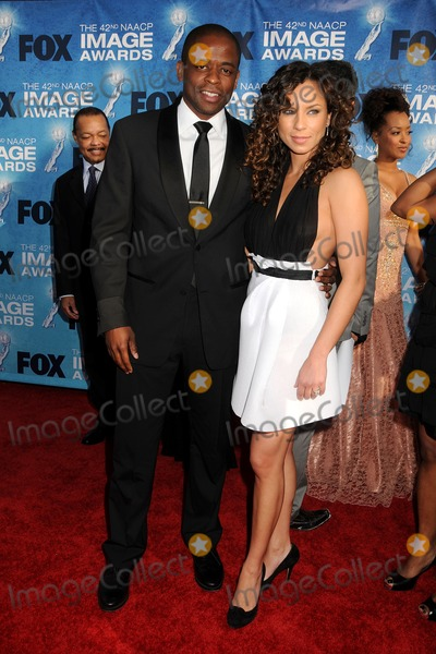 Nicole Lyn Photo - 4 March 2011 - Los Angeles California - Dule Hill and Nicole Lyn 42nd Annual NAACP Image Awards - Arrivals held at the Shrine Auditorium Photo Byron PurvisAdMedia