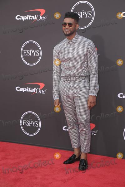 Usher Photo - 10 July 2019 - Los Angeles California - Usher  The 2019 ESPY Awards held at Microsoft Theater Photo Credit PMAAdMedia