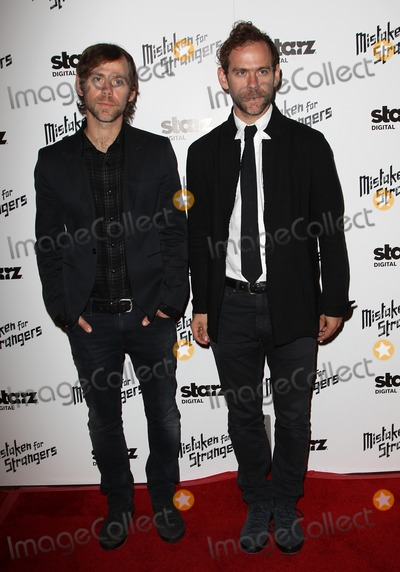 Bryce Dessner Photo - 25 March 2014 - Los Angeles California - Aaron Dessner Bryce Dessner Los Angeles Screening Of Mistaken For Strangers Los Angeles Gala Dinner Held at The Shrine Auditorium Photo Credit FSadouAdMedia