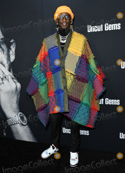 Young Thug Photo - 11 December 2019 - Hollywood California - Young Thug A24s Uncut Gems Los Angeles Premiere held at The Dome at Arclight Hollywood Photo Credit Birdie ThompsonAdMedia