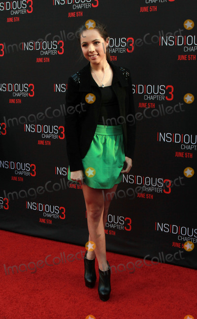 Aneliz Aguilar Photo - 04 June 2015 - Hollywood California - Aneliz Aguilar arrives at the Insidious Chapter 3 World Premiere at the TCL Chinese Theatre in Hollywood California Photo Credit Theresa BoucheAdMedia