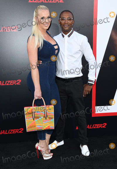 Amanda Moore Photo - 17 July 2018 - Hollywood  California - Amanda Moore Tommy Davidson The Equalizer 2 Los Angeles Premiere held at the TCL Chinese Theatre Photo Credit Birdie ThompsonAdMedia