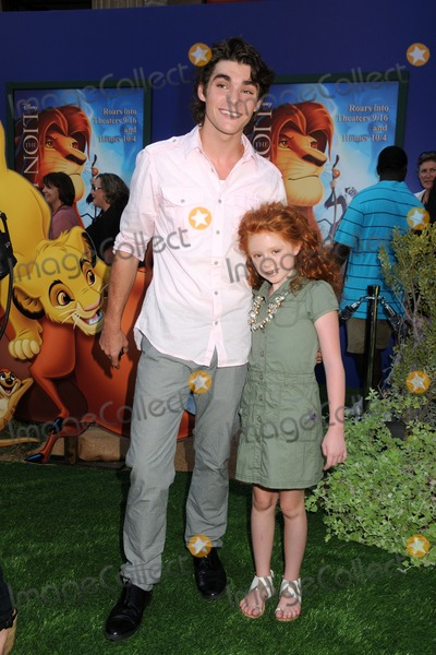 Lacianne Carriere Photo - 27 August 2011 - Hollywood California - RJ Mitte and Lacianne Carriere The Lion King 3D Los Angeles Premiere held at The El Capitan Theatre Photo Credit Byron PurvisAdMedia