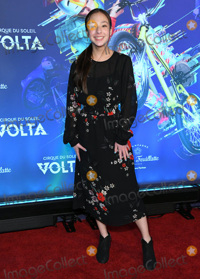 Aubrey Anderson-Emmons Photo - 21 January 2020 - Los Angeles California - Aubrey Anderson-Emmons Cirque Du Soleils Volta Los Angeles Premiere held at Dodger Stadium Photo Credit Birdie ThompsonAdMedia