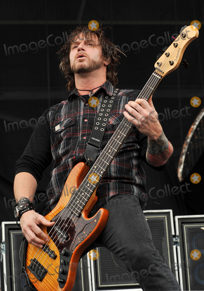 Alter Bridge Photo - 21 May 2011 - Columbus Ohio - Bassist BRIAN MARSHALL of the band ALTER BRIDGE performs as part of the Rock On The Range festival held at Columbus Crew Stadium Photo Credit Jason L NelsonAdMedia