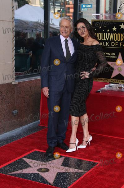 Catherine Zeta-Jones Photo - 6 November 2018-  Hollywood California - Michael Douglas Catherine Zeta-Jones Hollywood Walk of Fame Ceremony Honoring Michael Douglas held at Hollywood  Vine Photo Credit Faye SadouAdMedia