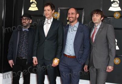 Andy Ross Photo - 12 February 2017 - Los Angeles California - Jim Nordwind Damian Kulash Dan Konopka Andy Ross of OK Go 59th Annual GRAMMY Awards held at the Staples Center Photo Credit AdMedia