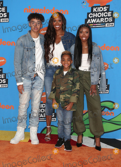 Cairo Peele Photo - 24 March 2018 - Inglewood California - Trey Peele-Nygard DJ Peele Beverly Peele Cairo Peele Nickelodeons 2018 Kids Choice Awards  held at The Forum Photo Credit F SadouAdMedia