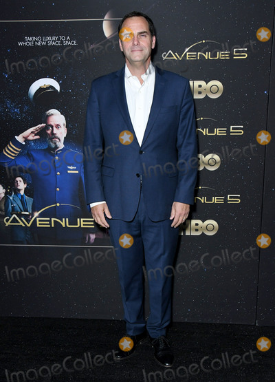 Andy Buckley Photo - 14 January 2020 - Hollywood California - Andy Buckley HBOs Avenue 5 Premiere - Los Angeles  held at Avalon Hollywood Photo Credit Birdie ThompsonAdMedia