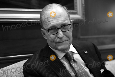 The National Photo - Director of the National Economic Council Larry Kudlow stands for a portrait in his office at the White House in Washington DC US on Thursday February 6 2020 Credit Stefani ReynoldsCNPAdMedia