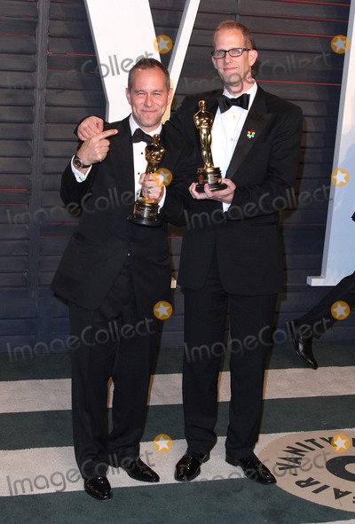 The 88 Photo - 28 February 2016 - Beverly Hills California - Jonas Rivera Pete Docter 2016 Vanity Fair Oscar Party hosted by Graydon Carter following the 88th Academy Awards held at the Wallis Annenberg Center for the Performing Arts Photo Credit AdMedia