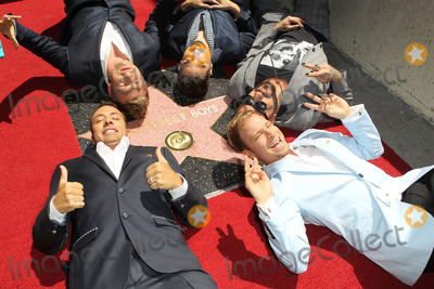AJ MCLEAN Photo - 22 April 2013 - Hollywood California - AJ McLean Nick Carter Brian Littrell  Howie Dorough and Kevin Richardson Backstreet Boys Backstreet Boys Honored with Star on The Hollywood Walk Of Fame Photo Credit Kevan BrooksAdMedia