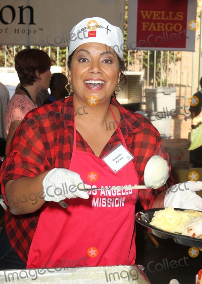Michaela Pereira Photo - 21 November 2012 - Los Angeles California - Michaela Pereira Kirk And Anne Douglas Host 8th Annual Thanksgiving For Skid Row Homeless At Los Angele Mission Held At The Los Angeles Mission Photo Credit Kevan BrooksAdMedia