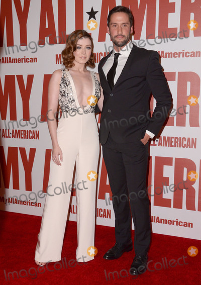 Juston Street Photo - 09 November - Los Angeles Ca - Sarah Bolger Juston Street Arrivals for the Los Angeles premiere of My All American held TPacific Theaters at The Grove Photo Credit Birdie ThompsonAdMedia