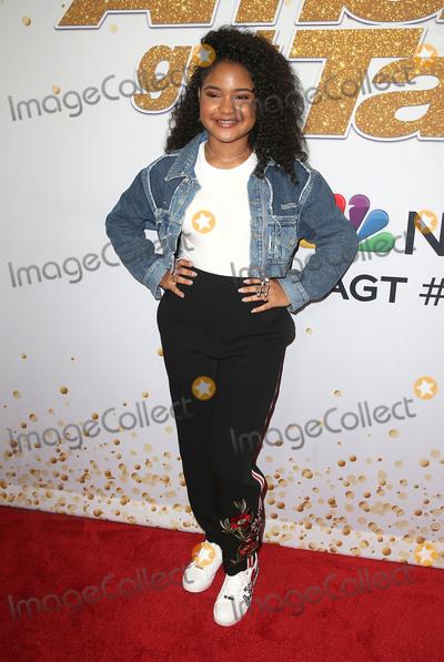 Amanda Mena Photo - 14 August 2018- Hollywood California - Amanda Mena Americas Got Talent Season 13 Live Show held at The Dolby Theatre Photo Credit Faye SadouAdMedia