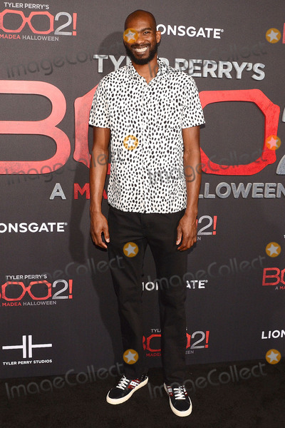 Corey Brewer Photo - 16 October 2017 - Los Angeles California - COREY BREWER Tyler Perrys Boo 2 A Madea Halloween Los Angeles Premiere held at Regal LA Live Stadium 14 Photo Credit Billy BennightAdMedia