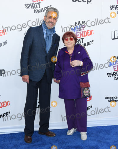 Agnes Varda Photo - 03 March 2018 - Santa Monica California - Agnes Varda  2018 Film Independent Spirit Awards -Arrivals held at the Santa Monica Pier Photo Credit Birdie ThompsonAdMedia