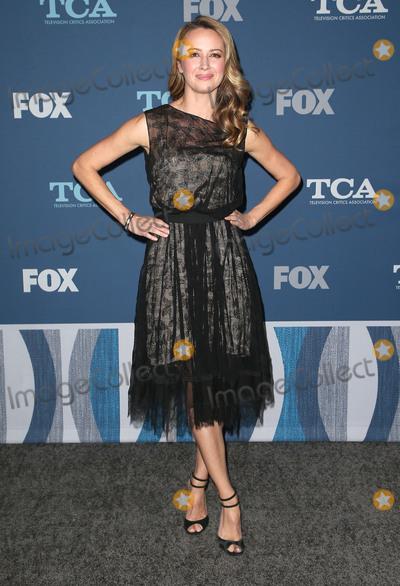 Amy Acker Photo - 04 January 2018 - Pasadena California - Amy Acker 2018 Winter TCA Tour - FOX All-Star Party held at The Langham Huntington Hotel Photo Credit F SadouAdMedia