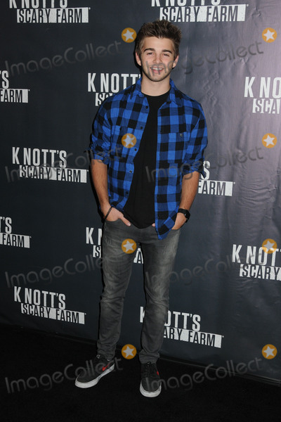 Jack Griffo Photo - 1 October 2015 - Buena Park California - Jack Griffo Knotts Scary Farm Black Carpet Event held at Knotts Berry Farm Photo Credit Byron PurvisAdMedia
