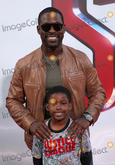 Andrew Brown Photo - 28 March 2019 - Hollywood California - Sterling K Brown Andrew Brown Warner Bros Pictures and New Line Cinema World Premiere of SHAZAM held at TCL Chinese Theatre Photo Credit Faye SadouAdMedia