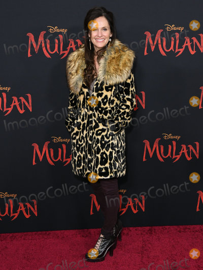 Amy Brenneman Photo - 09 March 2020 - Hollywood California - Amy Brenneman Disneys Mulan Los Angeles Premiere held at Dolby Theater Photo Credit Birdie ThompsonAdMedia