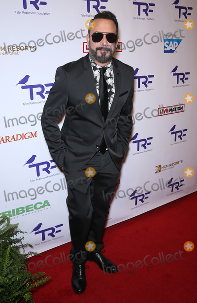 AJ MCLEAN Photo - 25 August 2017 - Las Vegas NV -  AJ McLean  The Tyler Robinson Foundation 4th Annual Believer Gala at Caesars Palace Credit mjtAdMedia
