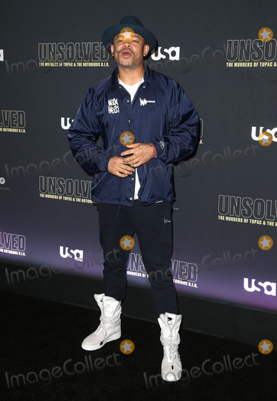 Anthony Hemingway Photo - 22 February 2018 - Hollywood California - Anthony Hemingway USA Networks Unsolved The Murders of Tupac  The Notorious BIG held at Avalon Hollywood Photo Credit F SadouAdMedia