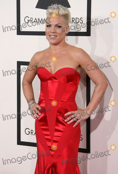 Alecia Moore Photo - 26 January 2014 - Los Angeles California - Pink Alecia Moore 56th GRAMMY Awards held at the Staples Center Photo Credit AdMedia