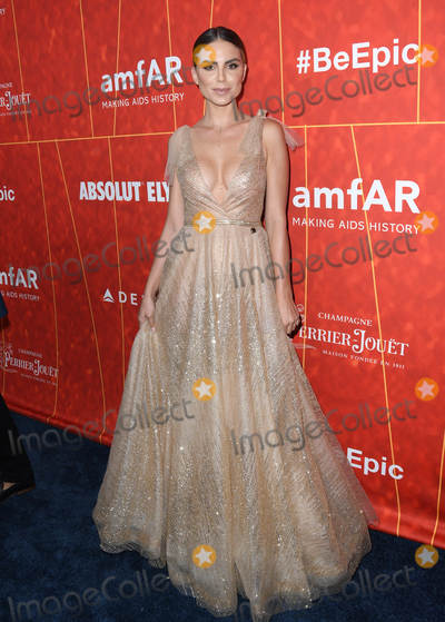 Nina Senicar Photo - 18 October 2018 - Beverly Hills California - Nina Senicar 2018 amfAR Gala Los Angeles held at Wallis Annenberg Center for Performing Arts Photo Credit Birdie ThompsonAdMedia