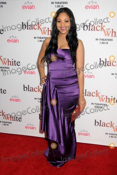 Erica Hubbard Photo - 20 January 2015 - Los Angeles California - Erica Hubbard Black or White Los Angeles Premiere held at Regal Cinemas LA Live Photo Credit Byron PurvisAdMedia