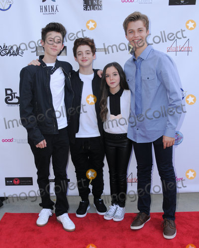 Alexa Nisenson Photo - 16 October 2016 - Beverly Hills California Griffin Gluck Thomas Barbusca Alexa Nisenson Jacob Hopkins Breaking The Chains Foundation And Glitter Magazine First Annual Fall Reception held at a Private Residence in Beverly Hills Photo Credit Birdie ThompsonAdMedia